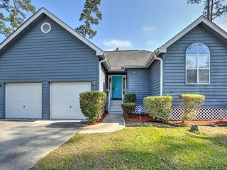 NEW! Sleek 3BR Savannah Home w/ Community Pool!