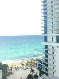 Wake up with beautiful Atlantic ocean views while lounging in the balcony!