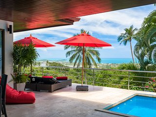 Chaweng - 3 bedroom sea view villa