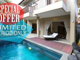 del Mar 2, Lux 2BR Charming Villa on Seminyak Beach