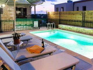 Villa in Rethymno with private pool, Asteri