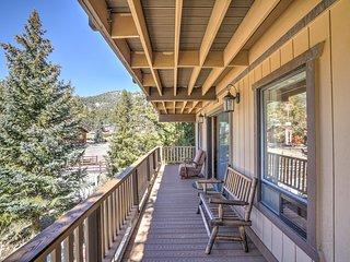 NEW! 2BR Big Bear Cabin w/ Wrap-Around Deck!