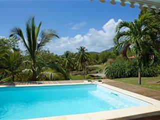 Ravissante maison creole  quartier calme et idealement plce - Jardin et piscine