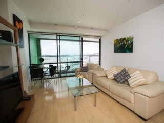 Central Harbor Views Apartment- Free parking!, Auckland Central