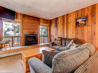 Dog-friendly condo right across the street from the Giant Steps ski lift area!