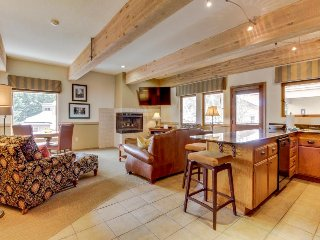 Modern and stylish home with a community hot tub and pool, close to ski lifts!, Ketchum