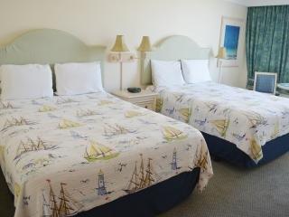 deux lits queen size