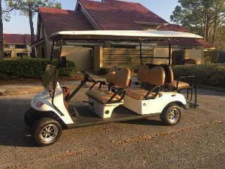 Now offering 15 % off stays in SEPT .  GOLF CART INCLUDED