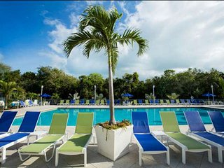 Tropical 2 Bedroom Island View Suites (F) - NEW POOL, Dock & Marina - Near all