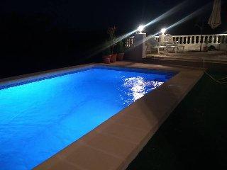 Villa en Oliva La Font en la cima con vistas impresionantes montaña mar  piscina, La Font d'En Carròs