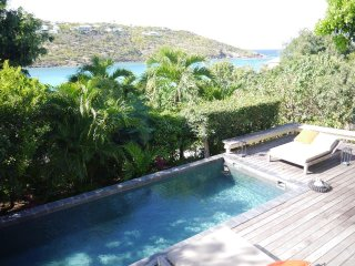 St Barth Villa Rental 1 bed Pool Sea View Located in Marigot, St. Jean
