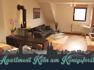 Cologne Apartment - Koln am Konigsforst - Messe / Trade fair 15min - City 20min