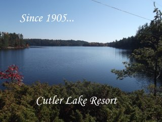 2 bedroom chalet on Cutler Lake