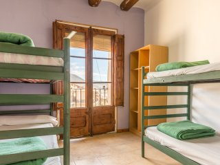Alberg La Solana - 24 - Quadruple Room (3 - 4 Guests)