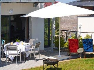 Gite 2 ch 2 sdb avec terrasse, a la campagne, Golfe du Morbihan, plages, Santal