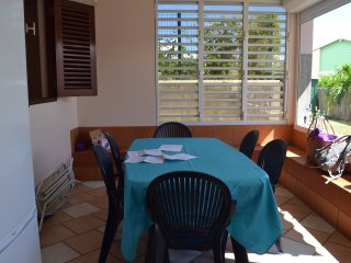 Apartment with 2 rooms in Le Diamant, with enclosed garden and WiFi