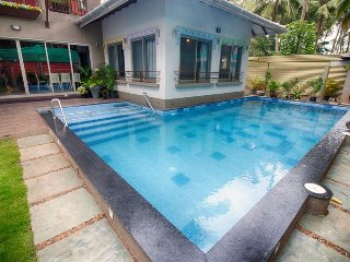 Luxury private pool villa 7 mins walk to Calangute beach