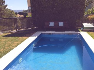 House with pool, jaccuzi, terrace, Pontevedra