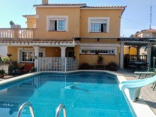 Villa con gran piscina privada
