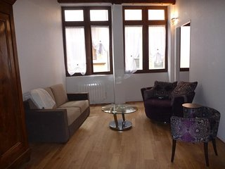 Apartment with one room in Lyon, with wonderful city view and WiFi