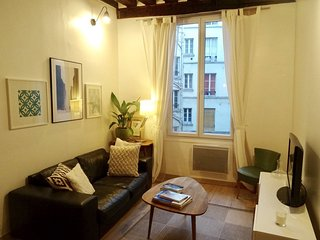 Very nice apartment close to the Marais