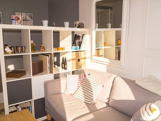 Bright and charming studio near the Eiffel Tower