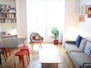 Beautiful Design apartment in Batignolles area