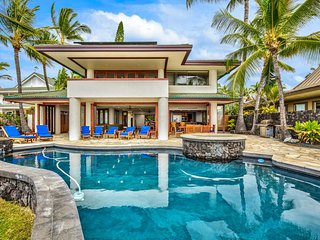 Beautiful Oceanfront Home in Gated Kona Bay Estates Community, Blue Water #34-PHKBE34