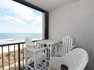 Station One-5F Beach Retreat-Oceanfront condo, community pool, tennis, beach