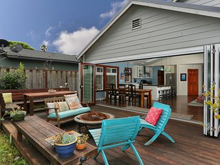 Beautiful Family Friendly Pleasure Point Surf House