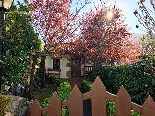 Hostería de Castañeda - vivienda típica con jardín en el corazón de Cantabria