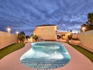 4 bedroom Villa in Calpe, Valencia, Spain : ref 5505912