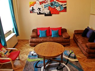 American Dream apartment in Kazimierz with WiFi & lift.