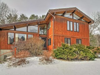 NEW! Secluded 5BR Quechee Home w/ Acreage!