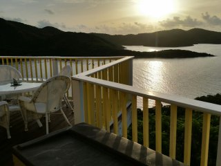 Sweet Wind Villa overlooking Hurricane Hole, Coral Bay