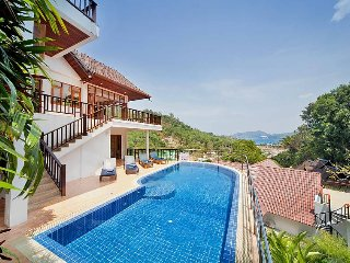 Patong Hill Estate Five | 5 Bed Pool Villa with Ocean View Patong Phuket, Karon