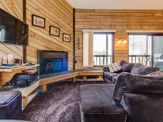 Gorgeous dog-friendly ski in/ski out getaway next to slopes - great for families