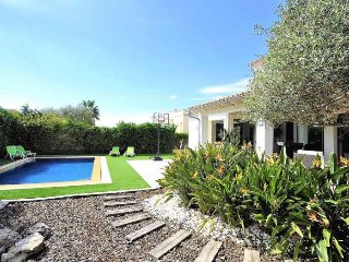 Chalet  6 pax, 3 bedrooms, in Sant Marçal (Marratxi). Smart TV . Private Pool Ec
