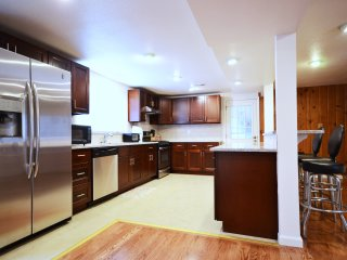 FULLY Remodeled 4000+ sq ft home w/ 2 kitchens; HALF Block from Park w/ Lake