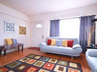Guests will find plenty of natural light shines in the main living room.