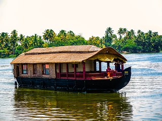 1 Bedroom Deluxe AC Houseboat