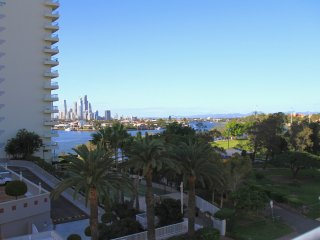 Location close Main Beach, Surfers; stunning rooftop views