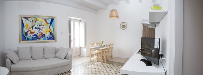 Soggiorno Cucina appartamento Principe Francesco