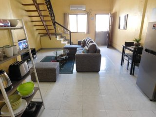 BEST VALUE 5 [Huge Living & Kitchen] Angeles Apart, Angeles City