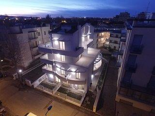 Residenza Riva Azzurra, eleganti appartamenti monolocali,bilocali,trilocali, Rivazzurra