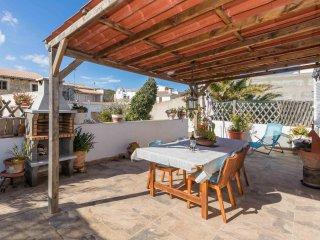 Roqueta Petit - Kleine Wohnung im ersten Stock mit toller Terrasse
