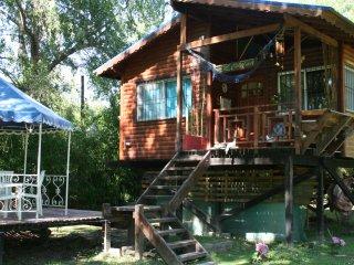 Cabaña Perechocha en Tigre. Un lugar para relajarse y difrutar de la naturaleza.