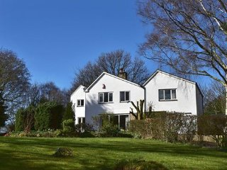 Large country house with stunning gardens and own private woodland