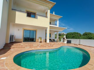 Large villa with private swimming pool.  Close to beach and town.