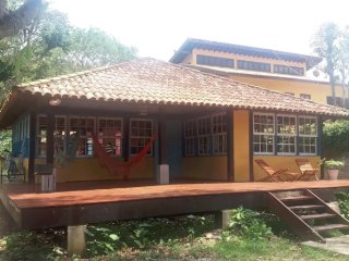 Casa de praia rústica, Camburi